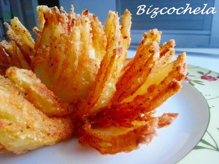 M s de 1000 ideas sobre receta con flor de cebolla en - Cocinar calabaza frita ...