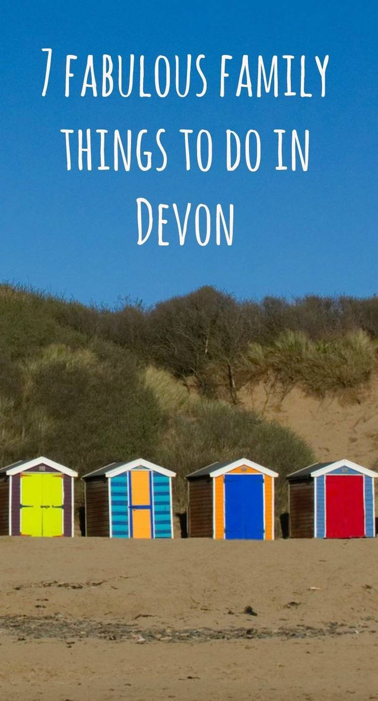 7 fabulous family things to do in Devon - holidaying in Devon ? Things to do in Devon for all the family