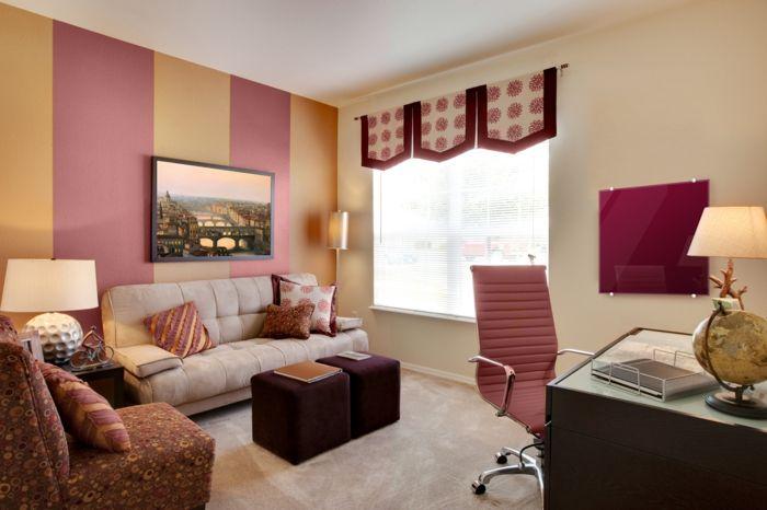 Wohnzimmerwände gestalten ~ Wohnzimmer wände gestalten kreative bilder für zu hause design