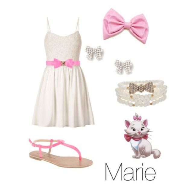 Marie :) disney outfits :)