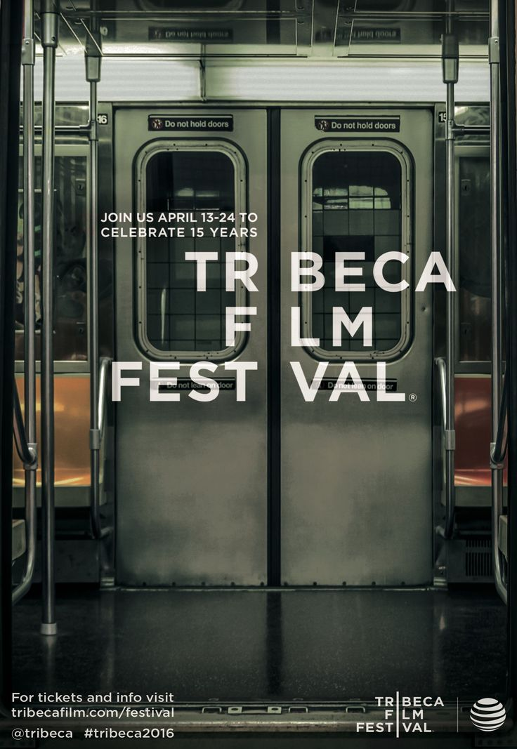The Tribeca Film Festival knows how to blend in with the New York environment.