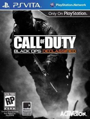 Jogo PS Vita Call of Duty Black Ops Declassified #Jogo #PS Vita