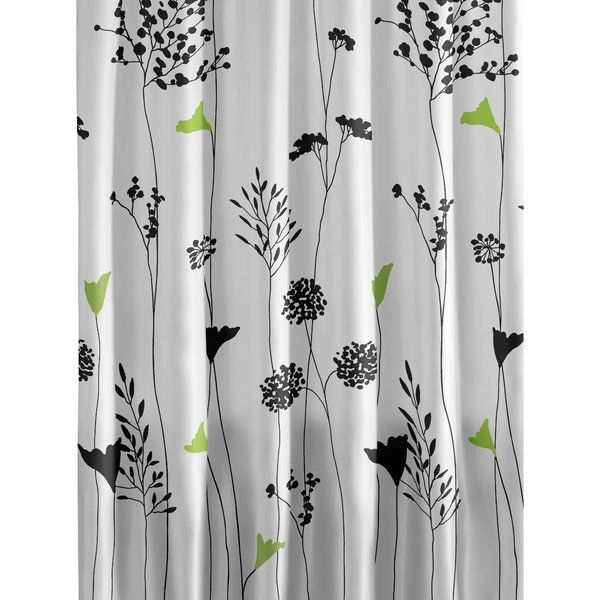Indulge the art lover in you with the Perry Ellis Asian Lily Cotton Shower Curtain. A striking and beautiful design, the shower curtain will appeal to the artist in you. Fashioned with contemporary and novelty accents, the shower curtain is sure to add a dash of charm to the interiors of your bathroom.<br/><br/>Crafted entirely out of cotton, the shower curtain follows the footsteps of abstract-themed accessories. The top and base are made out of a cotton curtain, which ...