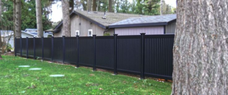 Vinyl Fence Decor