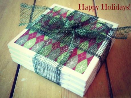 How to Make: Ceramic Tile Coasters