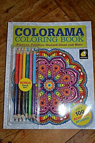 Colorama Coloring Book for Adults Giveaway 105 Coloring