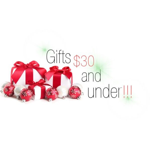 Tons of gift ideas for $30 and under. Great for people looking for stocking stuffer's or secret santa gifts!!