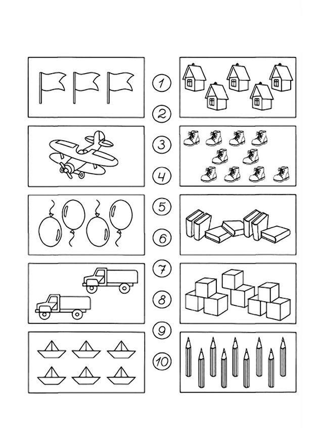 matemātika pirmsskolai
