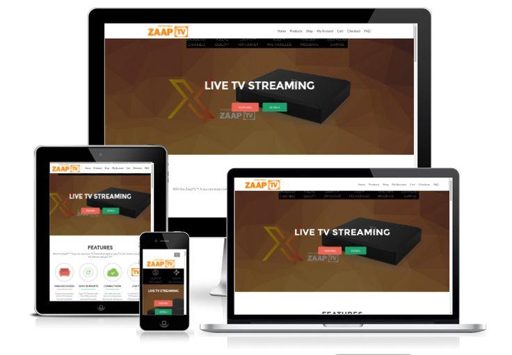 Erstellung live-tv.co.za mit Wordpress 4.6 und integriertem Woocommerce Shop https://www.cytracon.com/projekt-galerie/detail/news/zaap-tv-live-streaming/