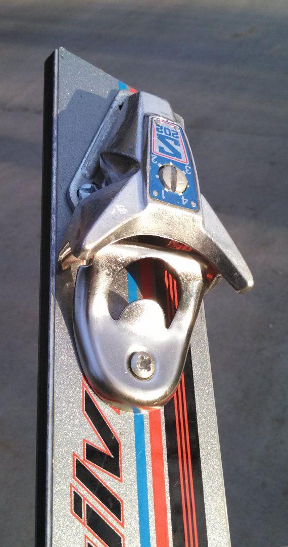 quickSilver the upCycled Retro Ski Bottle by upCycledDesignsBoise, $35.00