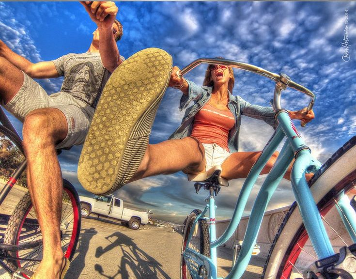 From a GoPro, nice!
