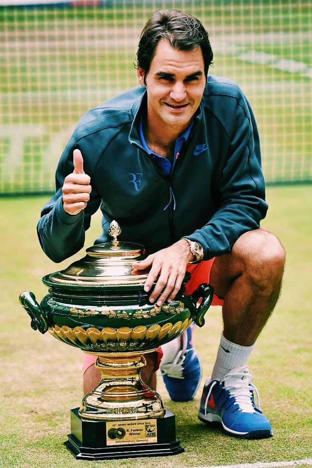 Roger Federer, 8th Time Gerry Weber Open Champion (2015)