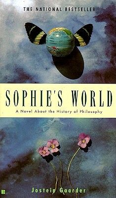 """Sophie's world"" by Jostein Gaarder is a philosophic story about the most basic questions of humanity. Who are we and where do we come from?! Wonderful and definitely a must read!"