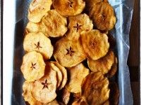 Unos snacks super nutritivos!!! Chips de manzana