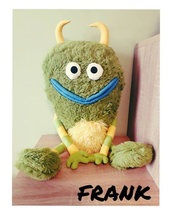 Frankie And Frank : frankie, frank, Frankie, Frank,, Green, Monster,, Alphabet, Song,, Puppet,, Birthday, Gift,, Stuffed, Animal,, Gifts,, Toys,, Monsters