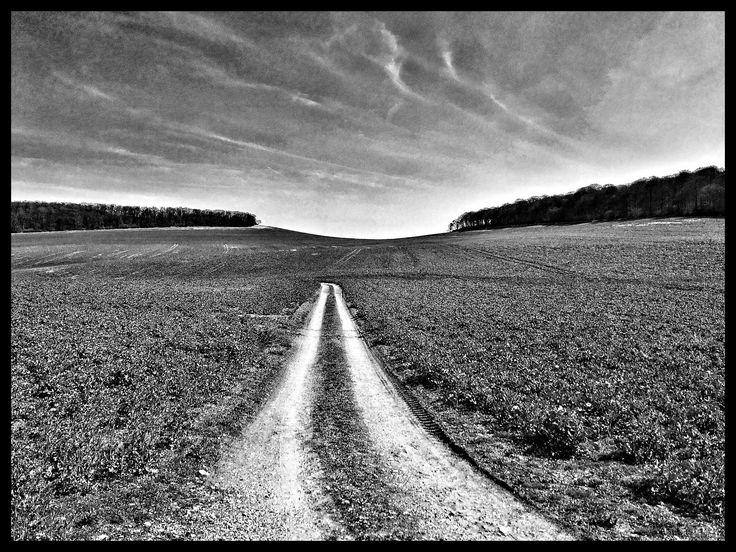 #landscape #france#blackandwhite
