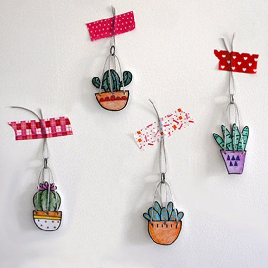 CACTUS _ necklace (Craft Gawker)                                                                                                                                                                                 More