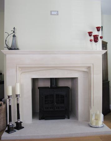 Natural Stone Fireplaces | French Limestone Fireplaces | Portland Stone Fire…