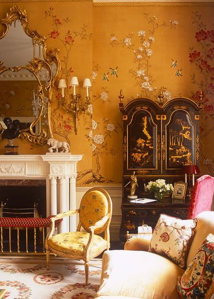 Chinoiserie - Interior Design by Alidad   Britain, Europe and the Middle East.