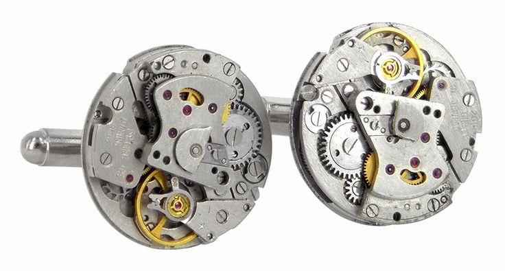 2016 watch movement cufflinks