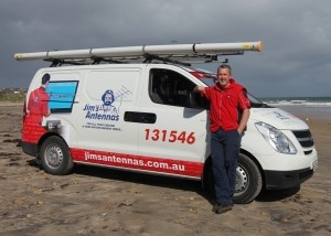 """Matthew is your local Jim serving Moana and all the Southern suburbs of Adelaide. Matthew Mitchell is also the 2012 Jim's Antennas """"FRANCHISEE OF THE YEAR"""".  Services we offer include antenna installations, ensuring your property is digitally ready, extra TV points, TV and home theatre installations, from unpacking, setting up, showing you how to use your new TV or DVD recorder, wall mounting your flat screen TV cabling. We can also help you with extra phone points data cabling."""