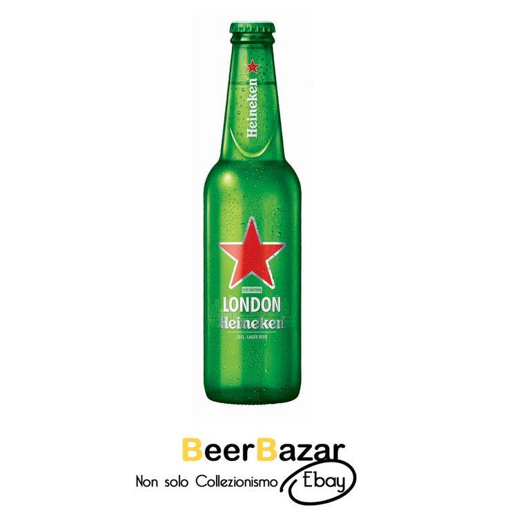 € 4,99 Bottiglia Birra Heineken Open your City London Edizione limitata piena raro #3  See more at Beerbazar Ebay >> http://stores.ebay.it/beerbazar