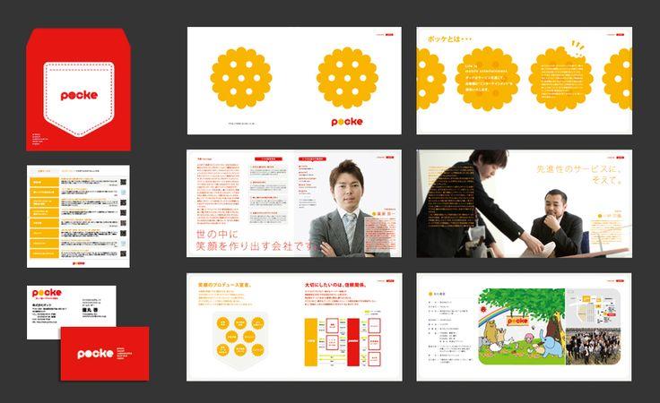 採用パンフレット、リクルートパンフレットデザインレイアウト