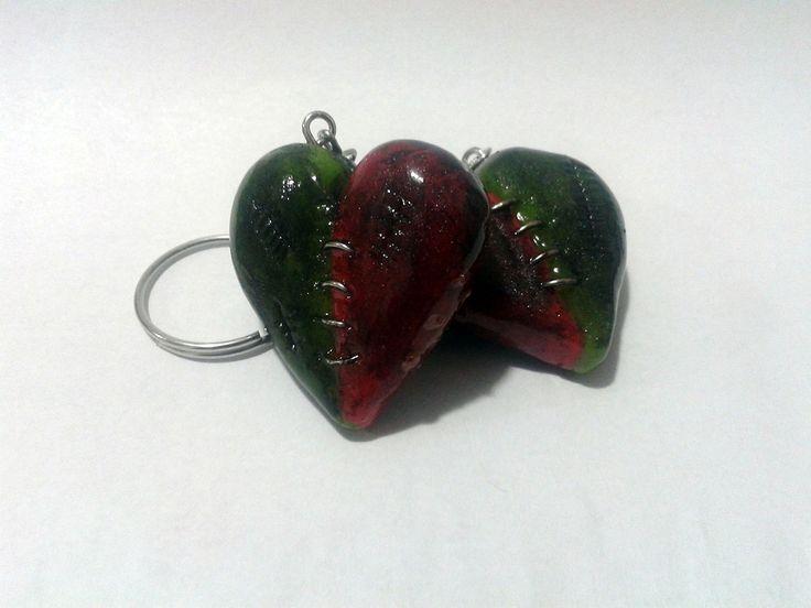 Chaveiro Zombie Heart (scheduled via http://www.tailwindapp.com?utm_source=pinterest&utm_medium=twpin&utm_content=post190560645&utm_campaign=scheduler_attribution)