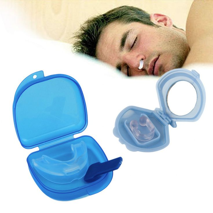 Dental Stop Anti Snoring Solution Device Snore Stopper Mouthpiece Tray Stopper Sleep Apnea Mouthguard Health Care #Affiliate