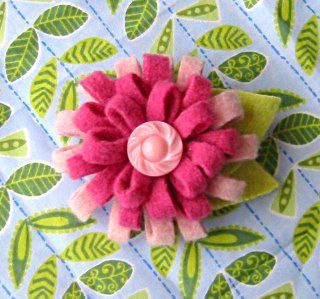 Cute felt flower