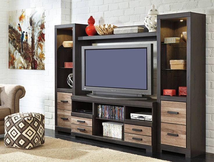 best Entertainment Centers We Love  on Pinterest