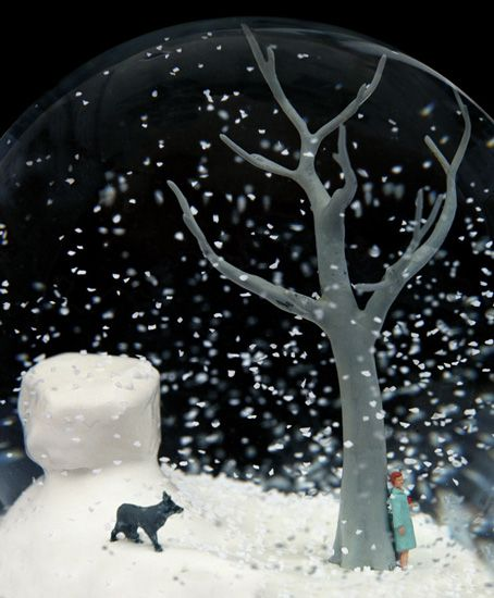 Mayhem and Chaos in Snow Globes and On Islands (15 Pics) - My Modern Met