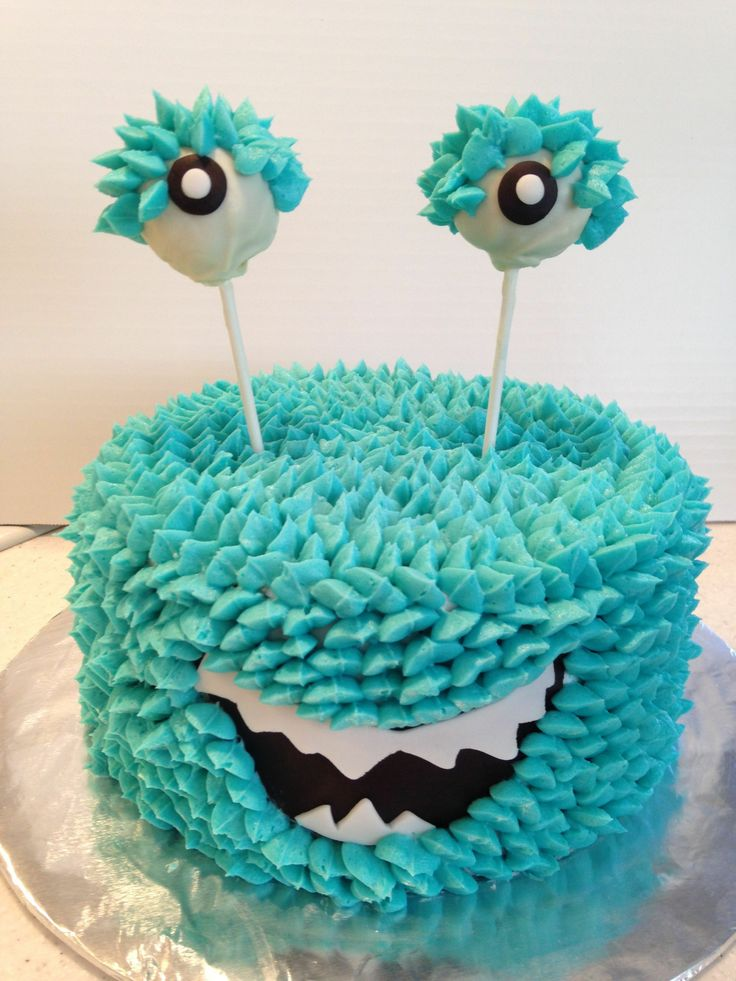 Monster Can Cake