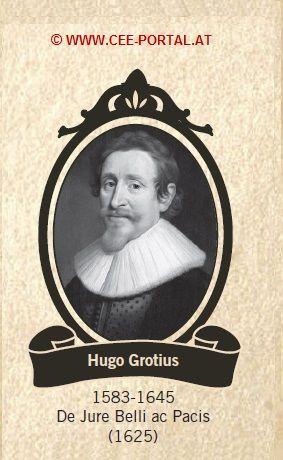 Hugo Grotius 1583-1645 De Jure Belli ac Pacis(1625) INTERNATIONAL LAW