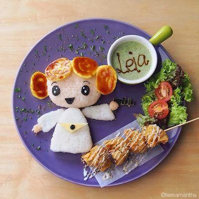 food art, lee samantha, lea