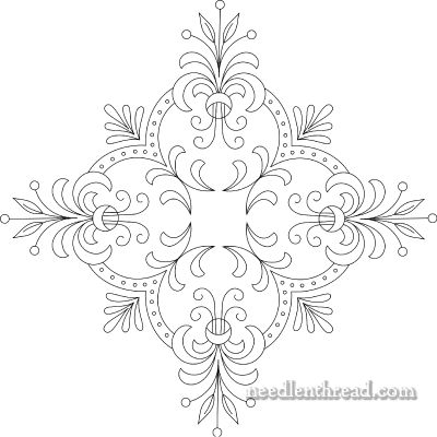 free bead embroidery patterns | Free Hand Embroidery Pattern: Perfect Pillow Top – Needle'nThread ...