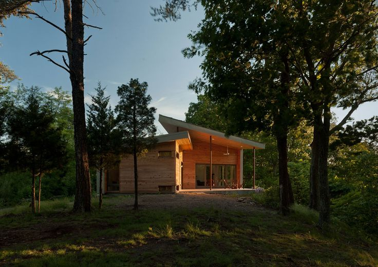 Beautiful Cabin Located in the Mountains of West Virginia, USA - GriD Architects