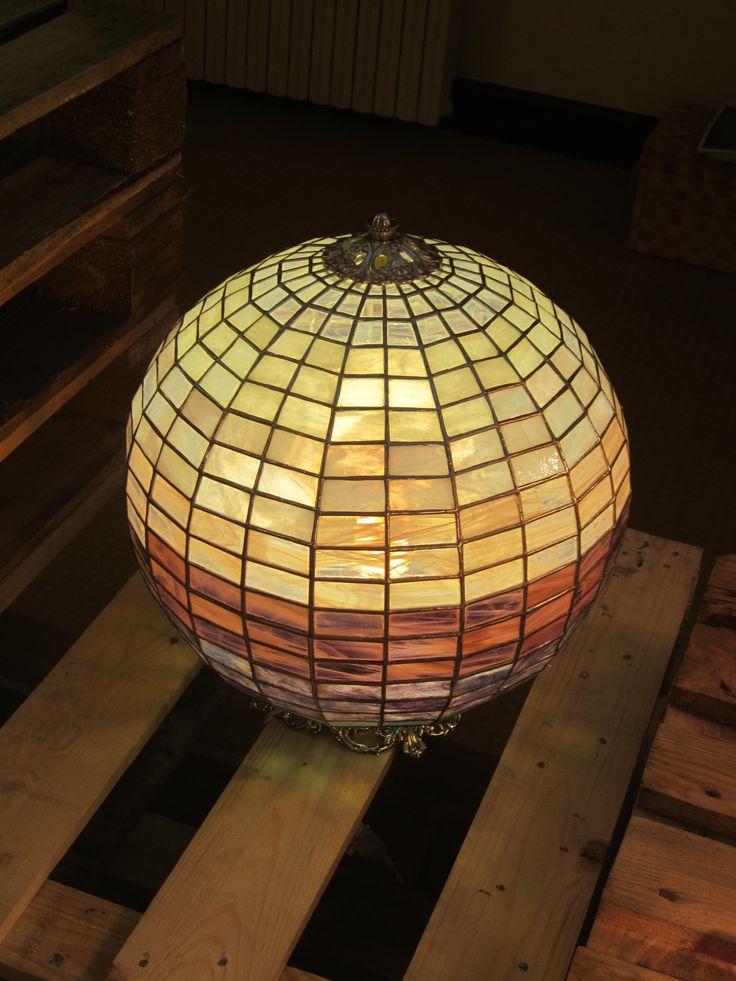 handmade stained lamp annasantandrea@hotmail.it