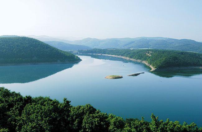 Edersee - Nationalpark Kellerwald-Edersee im wunderschönen Hessen in Deutschland!