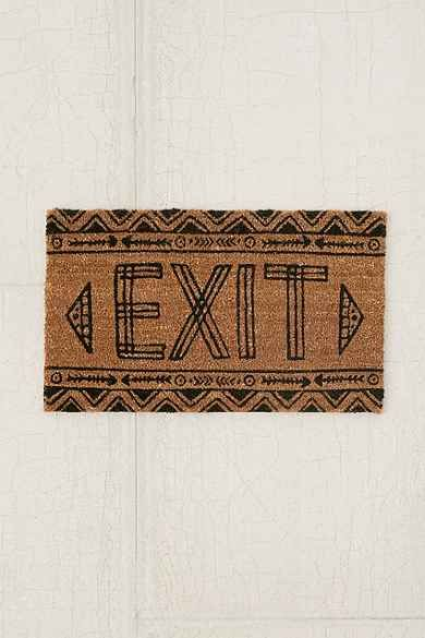 Magical Thinking Exit Door Mat Rug