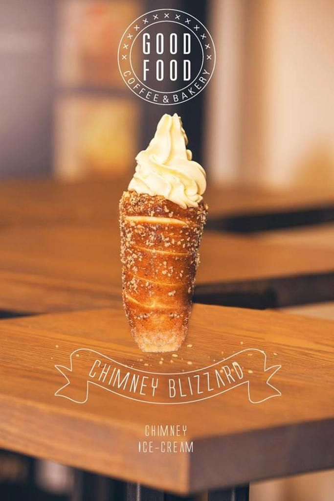 PRAGUE: Good Food & Coffee - the infamous Trdelník (donut) cone ice cream