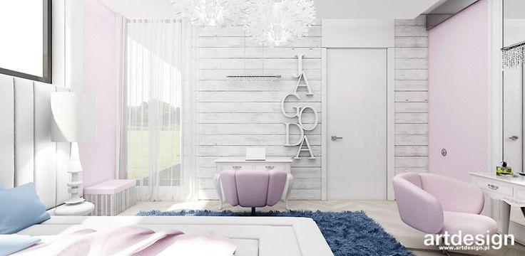 pokój dla dziewczynki: styl , w kategorii Pokój dziecięcy zaprojektowany przez ARTDESIGN architektura wnętrz