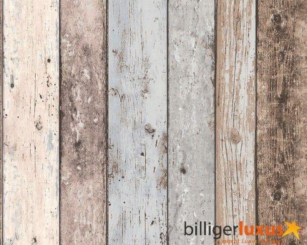 Het sloophout geeft een speels effect.