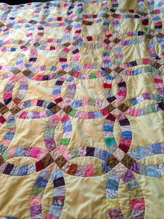 Reserve Unique Memory Quilt Using my mom's old quilts