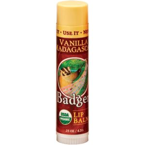 Badger Classic Lip Balm Vanilla Madagascar