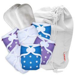 Pikapu newborn starter pack, 6 nappies plus accessories 2-6kg