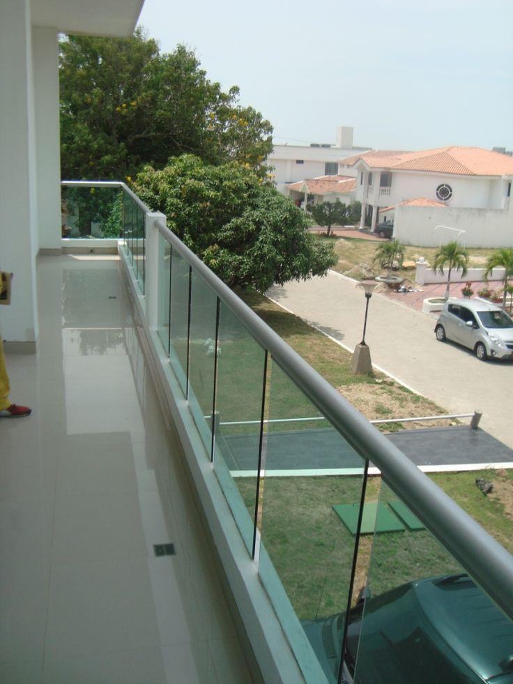 Vista de la terraza compartida de los dos dormitorios