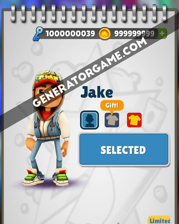 [NEW] SUBWAY SURFERS HACK ONLINE 2015 REAL WORKS: www.online.generatorgame.com  Get Free 999999999 Coins and Keys to your account: www.online.generatorgame.com  This method 100% works for real! No more Lies: www.online.generatorgame.com  Please SHARE this real hack online guys: www.online.generatorgame.com  HOW TO USE:  1. Go to >>> www.online.generatorgame.com and choose Subway Surfers image (you will be redirect to Subway Surfers Generator site)  2. Enter your Subway Surfers Username/ID or…
