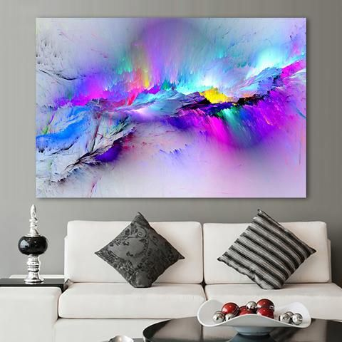 Abstract Clouds - Oil Painting Home Decor (No Frame) 5178617