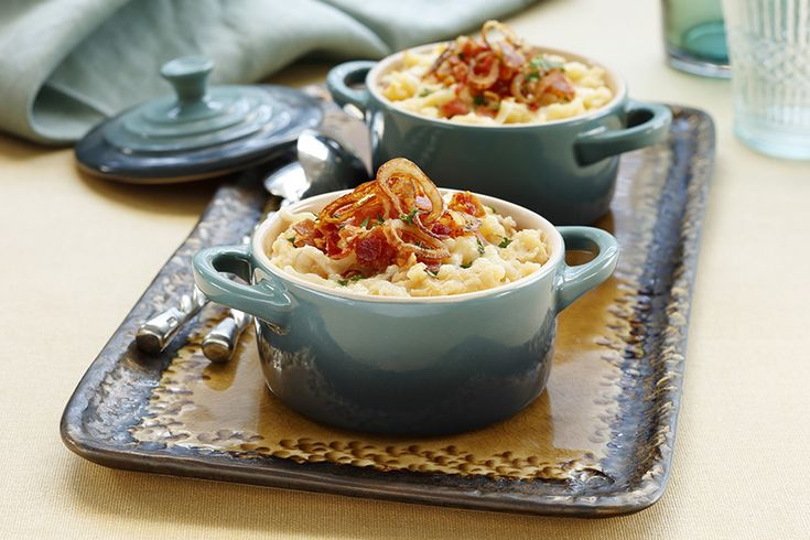 Just when you thought Loaded Baked Mashed Potatoes couldn't get more decadent!